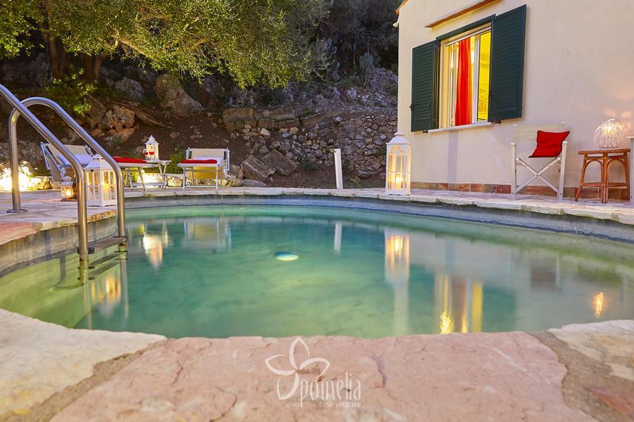 Rosa dei venti villa con piscina a castellammare del golfo - Villa dei sogni piscina ...